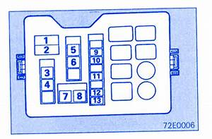 Mitsubishi Pajero 2800 1999 Under The Dash Fuse Box  Block Circuit Breaker Diagram  U00bb Carfusebox