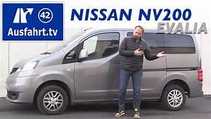 Nissan Nv200 Evalia : 2017 nissan nv300 kastenwagen mit doppelkabine comfort 2 ~ Mglfilm.com Idées de Décoration