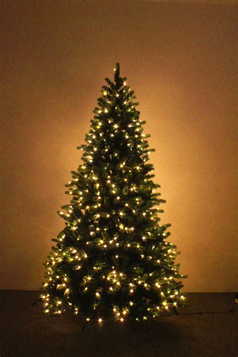 ultra devonshire pre lit fir tree  warm white leds