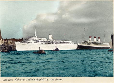 m v wilhelm gustloff and ss cap arcona by rms olympic on