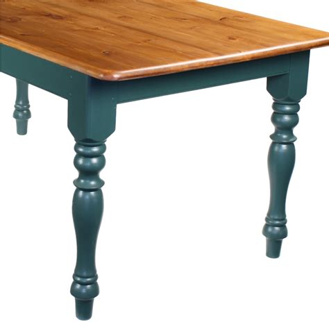 6 Foot Dining Table by 6 Foot Finished Pine Kitchen Farmhouse Dining Table X Ebay