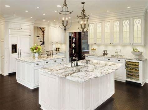 Alaska White Granite White Cabinets Backsplash Ideas