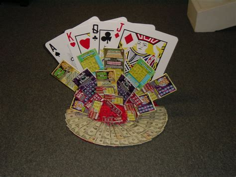 lottery poker  images money bouquet lottery cards
