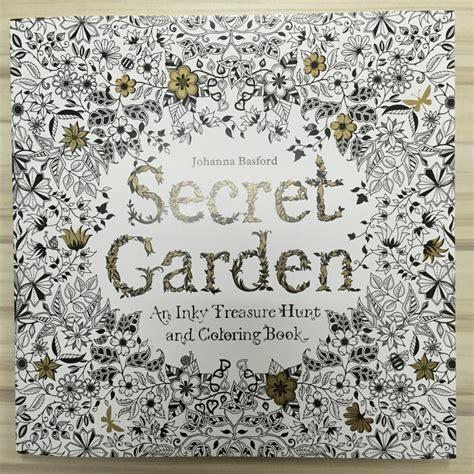 buy  pages secret garden coloring book
