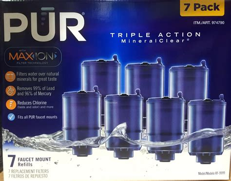Pur Faucet Water Filter Refill by Pur Maxion Faucet Mount Replacement Water Filters Harvey