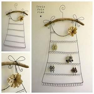fabriquer porte bijoux facile maison design bahbecom With fabriquer porte bijoux facile