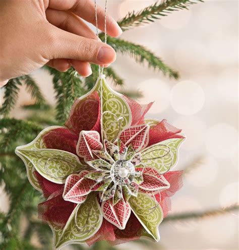 decorate your christmas tree with beautiful diy paper