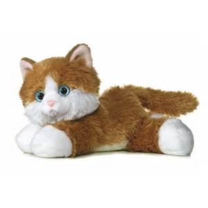 stuffed animal cats the stuffed orange tabby cat by