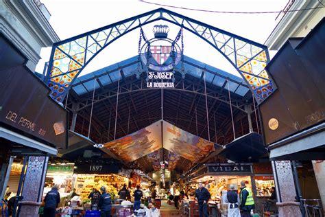 Explore the famous local market: St. Josep La Boqueria ...