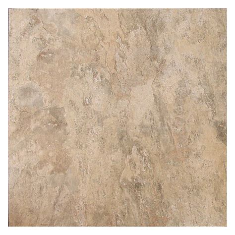lowes flooring peel and stick shop style selections almond peel and stick residential vinyl tile at lowes com