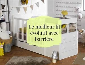 Lit Barreau Evolutif : le meilleur lit volutif avec barri re pour accompagner b b ~ Teatrodelosmanantiales.com Idées de Décoration