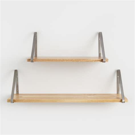 Wall Shelf by Wood Mix Match Wall Shelf Collection World Market