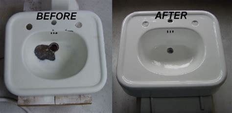 how to repair a cracked sink sink repair refinishing countertop and tub re nu