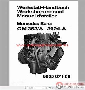 Mercedes Benz 300  400 Series Engine Service Manual