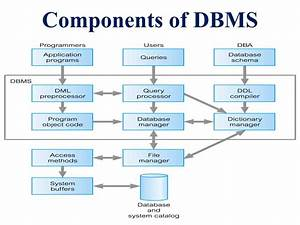 Dbms-components
