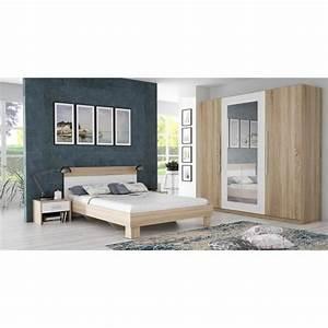 Chambre Complete Adulte : chambre compl te adulte achat vente chambre compl te ~ Carolinahurricanesstore.com Idées de Décoration