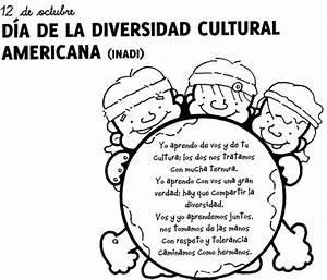 Dibujos para colorear del Día del Respeto a la Diversidad Cultural Colorear imágenes