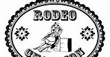 Barrel Coloring Pages Racer Cowgirl Rodeo Sheet sketch template