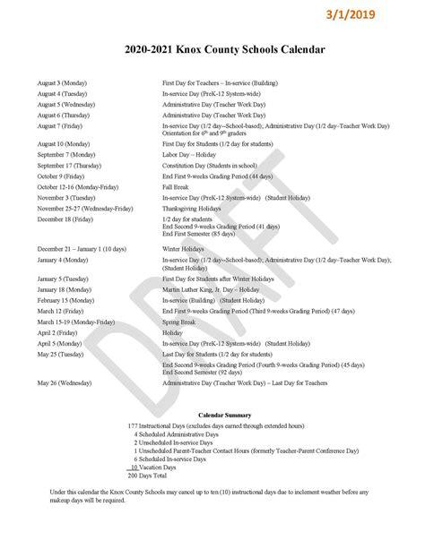 Knox County Schools 2022 23 Calendar.K N O X C O U N T Y S C H O O L S C A L E N D A R 2 0 2 1 2 2 Zonealarm Results