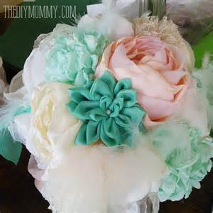 diy wedding bouquet make faux succulents out of felt the diy