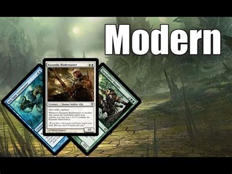 mtg modern deck tech bant allies youtube