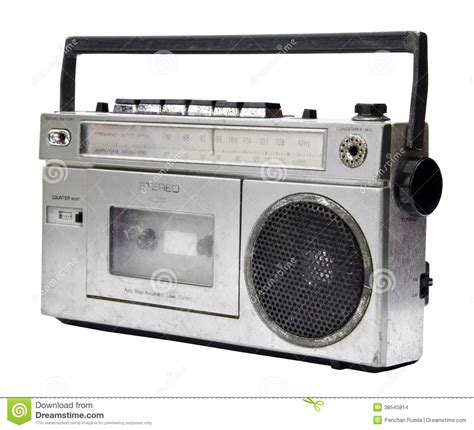 Radio Cassette Recorder by Vintage Radio Cassette Recorder Stock Images Image 38545814