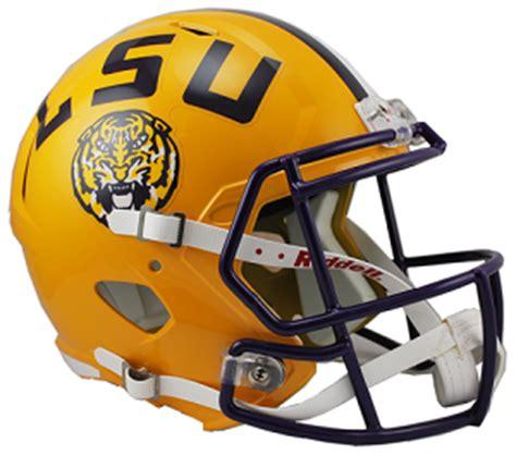 LSU Tigers Football Helmets