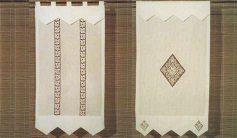 tende di lino ricamate a mano belleri tende a vetro