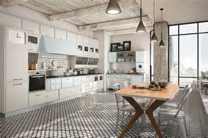 pictures of backsplashes for kitchens vintage kitchen offers a refreshing modern take on fifties style