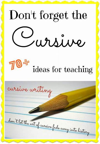 Cursive Handwriting Writing Teaching Worksheets Activities Practice
