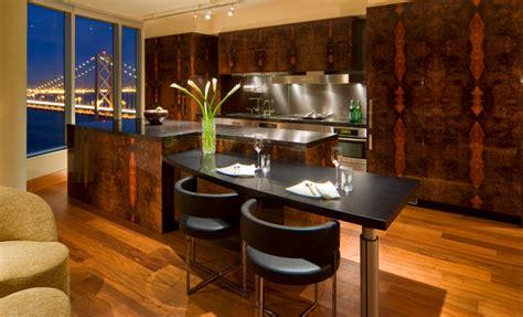 high rise condo modern kitchen san francisco