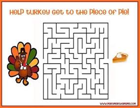 assorted free printable thanksgiving activities for allfreepapercrafts