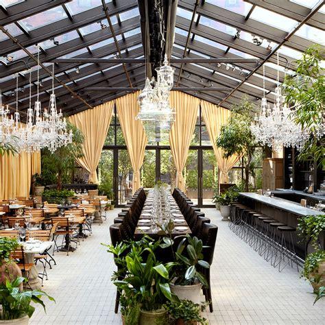 new york s chicest garden restaurants best restaurants