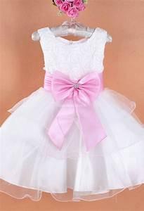 robe de cortege enfant blanche a bretelles With robe de cocktail combiné avec bracelet petite fille