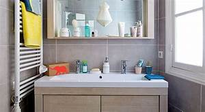 Carrelage Avant Ou Apres Receveur : salle de bains avec baignoire ou douche travaux avant apr s ~ Nature-et-papiers.com Idées de Décoration