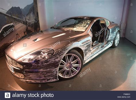 Damaged Aston Martin Dbs That Was Used In James Bond