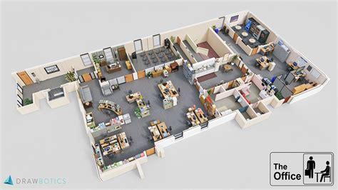 plan des bureaux mad the office découvrez les plans en 3d des