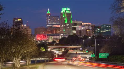downtown raleigh north carolina cityscape image