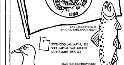 #utah State Symbol Coloring Page By Crayola. Print Or