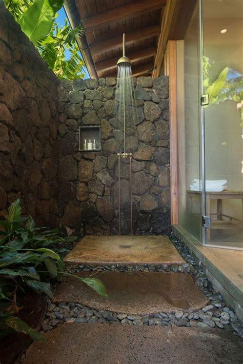 indooroutdoor showers     small paradise