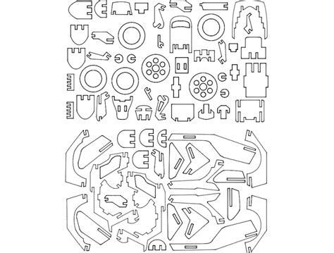 ladari 3d motoneta 3d puzzle dxf file free 3axis co