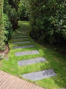 allees et chemins hmt With chemin de jardin en pierre