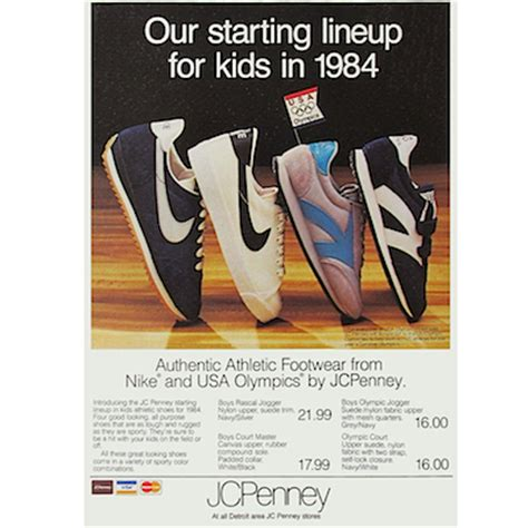 nike  jcpenney shoes  starting lineup  kids