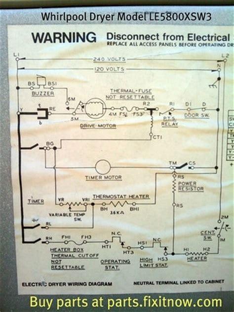 whirlpool dryer schematic wiring diagram wiring diagram