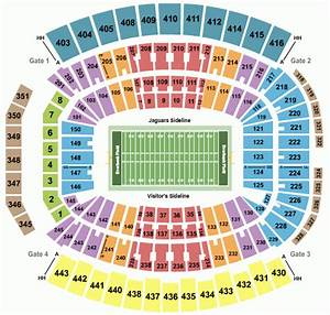 Tiaa Bank Field Seating Chart Georgia Florida Everbank Field Seating Chart Georgia Florida Game