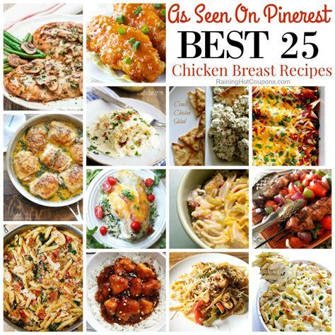 the best dinner recipes 25 of the best easy dinner ideas with chicken breasts