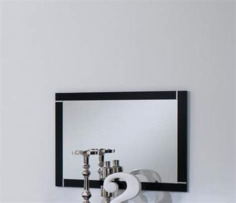 miroir chambre a coucher miroir city laque noir chambre à coucher