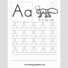 Capital Letters Handwriting Worksheets  Homeschool  Pinterest  Handwriting Worksheets, Free
