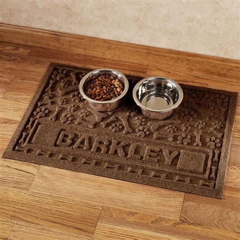 Pet Doormat by Paws And Bones Personalized Pet Mat