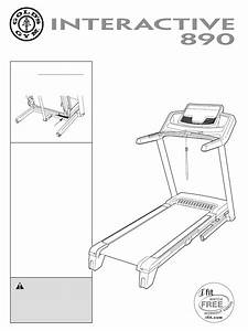 Gold U0026 39 S Gym Treadmill Ggtl78609 0 User Guide